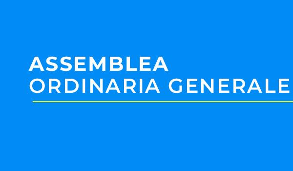 Assemblea Ordinaria Generale | G.C. Fausto Coppi